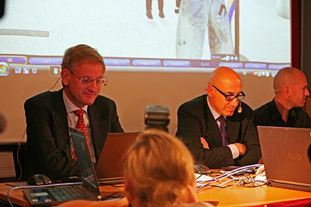 Carl Bildt och Olle Wästberg