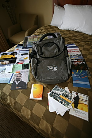 TechEd 2007 bag