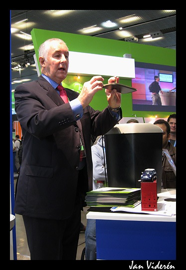 Magician in the Citrix booth