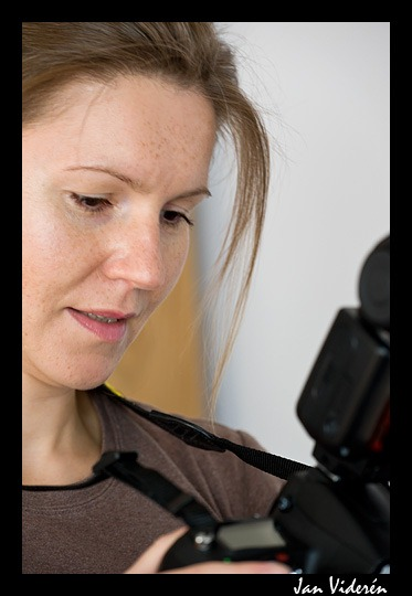 Aleksandra and Nikon D700