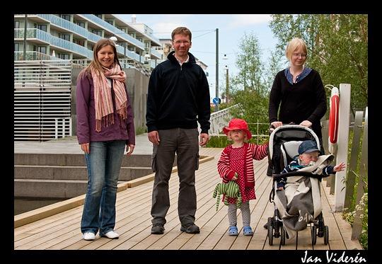 Aleksandra, Christian, Moa, Karin & Melvin