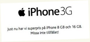 Telia iPhone-rea