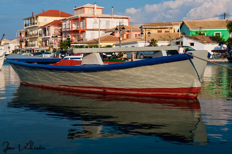 Boat in Lefkada