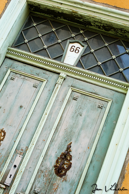 Door in Tallinn