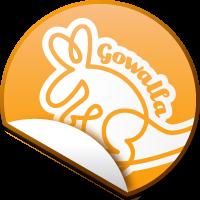 Gowalla Sticker
