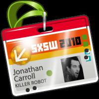 2010 SXSW Badge