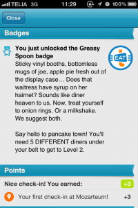 Greasy Spoon Badge