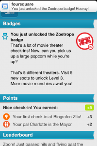 Zoetrope Badge