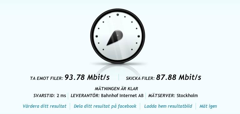 Bahnhof 100 Mbit