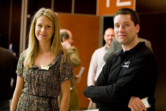 Microsoftevangelisterna Maria och Micke